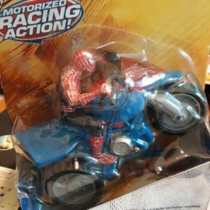 Brand new in box spider man zoom 'n go